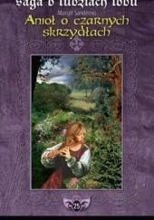 Okładka książki Anioł o czarnych skrzydłach Margit Sandemo