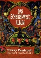 Okładka książki Scheibenwelt-Album Terry Pratchett