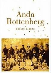 Okładka książki Proszę bardzo Anda Rottenberg