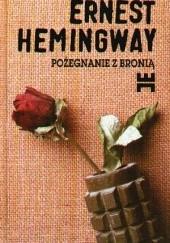 Okładka książki Pożegnanie z bronią Ernest Hemingway
