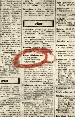 Stara Proza Nowe Wiersze Miron Białoszewski 50926