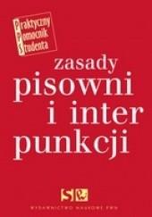 Okładka książki Zasady pisowni i interpunkcji Edward Polański