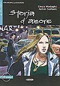 Okładka książki Storia d' amore + CD Cinzia Medaglia