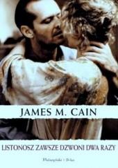 Okładka książki Listonosz zawsze dzwoni dwa razy James Mallahan Cain