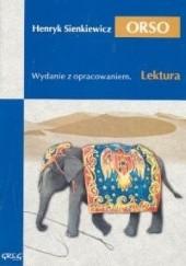 Okładka książki Orso Henryk Sienkiewicz