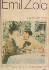 Okładka książki Kartka miłości Emil Zola