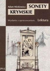 Okładka książki Sonety krymskie Adam Mickiewicz