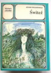 Okładka książki Świteź Adam Mickiewicz