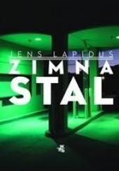 Okładka książki Zimna stal Jens Lapidus