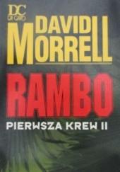Okładka książki Rambo pierwsza krew II David Morrell