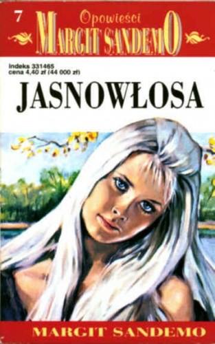 Okładka książki Jasnowłosa Margit Sandemo