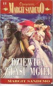 Okładka książki Dziewica z Lasu Mgieł Margit Sandemo