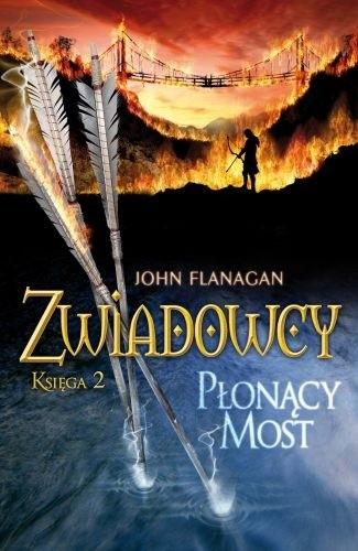 Okładka książki Płonący most John Flanagan