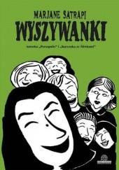Okładka książki Wyszywanki Marjane Satrapi