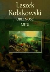 Okładka książki Obecność mitu Leszek Kołakowski