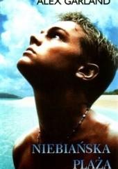 Okładka książki Niebiańska plaża Alex Garland
