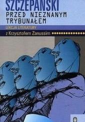 Okładka książki Przed nieznanym trybunałem Jan Józef Szczepański