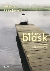 Okładka książki Za duży blask: O kinie współczesnym Tadeusz Sobolewski