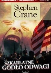 Okładka książki Szkarłatne godło odwagi Stephen Crane