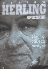 Okładka książki Gorący oddech pustyni Gustaw Herling-Grudziński