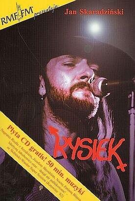 Okładka książki Rysiek Jan Skaradziński