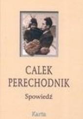 Okładka książki Spowiedź Calek Perechodnik