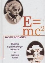 Okładka książki E=mc2: Historia najsłynniejszego równania