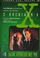 Okładka książki Słoń, którego nie ma Les Martin