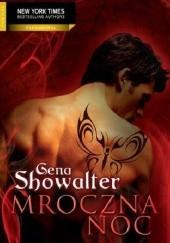Okładka książki Mroczna noc Gena Showalter