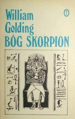 Okładka książki Bóg Skorpion