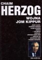 Okładka książki Wojna Jom Kippur Chaim Herzog