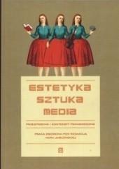 Okładka książki Estetyka sztuka media Maria Jabłońska