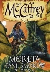 Okładka książki Moreta, pani smoków z Pern Anne McCaffrey