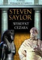 Okładka książki Werdykt Cezara Steven Saylor