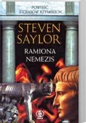 Okładka książki Ramiona Nemezis Steven Saylor