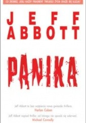 Okładka książki Panika Jeff Abbott