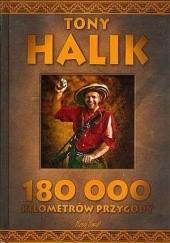 Okładka książki 180 000 kilometrów przygody Tony Halik