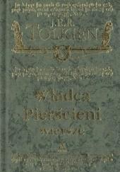 Okładka książki Władca Pierścieni. Wiersze J.R.R. Tolkien