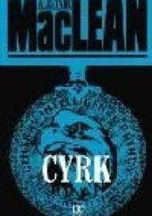 Okładka książki Cyrk Alistair MacLean
