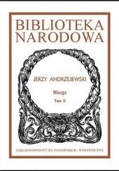 Okładka książki Miazga Jerzy Andrzejewski