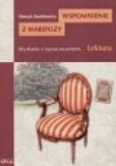 Okładka książki Wspomnienie z Maripozy Henryk Sienkiewicz