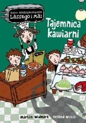 Okładka książki Tajemnica kawiarni Martin Widmark,Helena Willis
