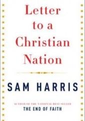 Okładka książki Letter to a Christian Nation Sam Harris