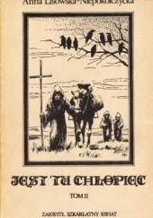Okładka książki Zakwitł szkarłatny kwiat Anna Lisowska-Niepokólczycka