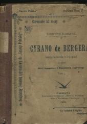 Okładka książki Cyrano de Bergerac. Komedya bohaterska w 5-ciu aktach - t. 1, 2 Edmond Rostand