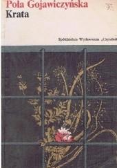 Okładka książki Krata Pola Gojawiczyńska