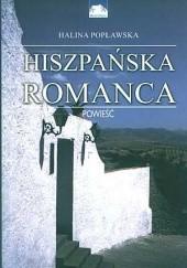 Okładka książki Hiszpańska romanca Halina Popławska