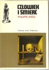 Okładka książki Człowiek i śmierć Philippe Ariès