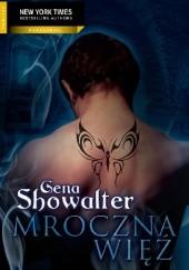 Okładka książki Mroczna więź Gena Showalter
