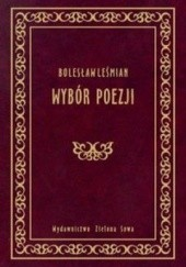 Okładka książki Wybór poezji Bolesław Leśmian